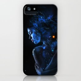 Andromeda 5 iPhone Case