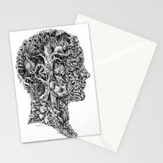 portrait of summer Stationery Cards