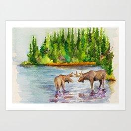 Isle Royale National Park Art Print