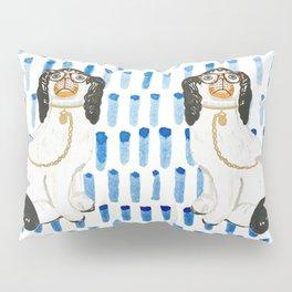 BESPECTACLED on BLUE Pillow Sham