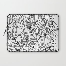 Floral Wall Laptop Sleeve