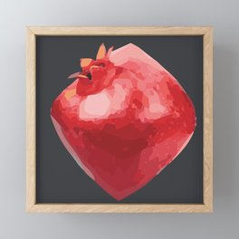 Juicy Pomegranate Framed Mini Art Print