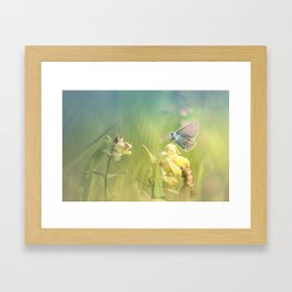 Dreamy serenity Framed Art Print