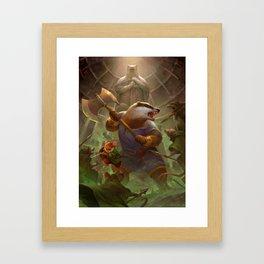 Orlando and Matthias Framed Art Print