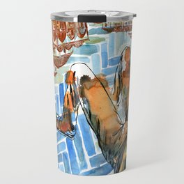 Asleep in Foreign Cities Travel Mug