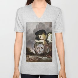 Lillies That Fester Smell Far Worse Than Weeds Unisex V-Neck