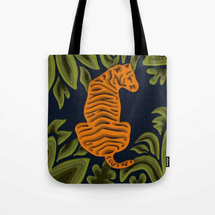Deep in the Jungle Tote Bag