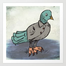 Natty Wings Art Print