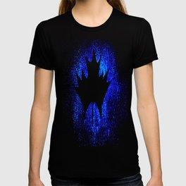 Maple leaf dark blue T-shirt
