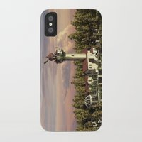 astronomy iPhone & iPod Cases featuring Astronomy tower by Alexander Atkishkin