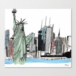 New York. Canvas Print