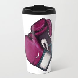 For the love of Boxing // HOT PINK & TEAL Travel Mug