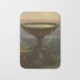 Thomas Cole - The Titan's Goblet Bath Mat