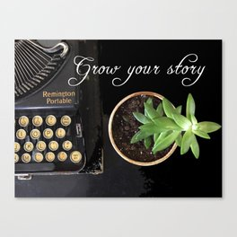 Grow Your Story Canvas Print