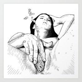 Squirter Art Print