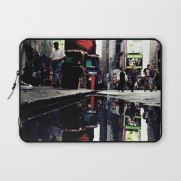 Time Square Mirror Laptop Sleeve