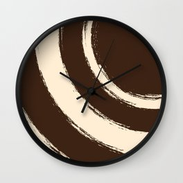 Brush Strokes V2 Wall Clock