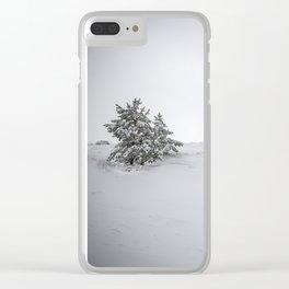 """Sierra Nevada"" Retro Clear iPhone Case"
