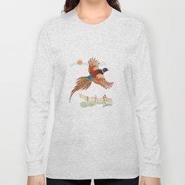 male pheasant Long Sleeve T-shirt