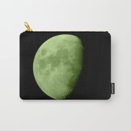 4K Dark Side of the Moon Lime Green Carry-All Pouch
