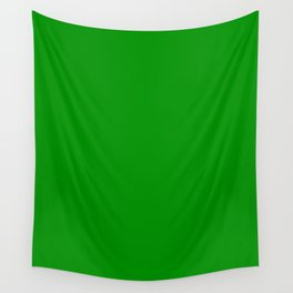 Islamic Green - solid color Wall Tapestry