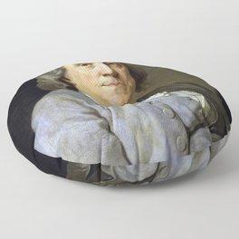 Benjamin Franklin Floor Pillow