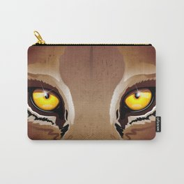 Wild Puma Eyes Carry-All Pouch