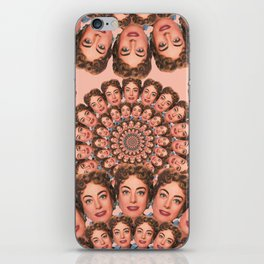 Busby Crawford Zinnia iPhone Skin