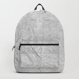 Methow Valley Topography - SeriousFunStudio Backpack