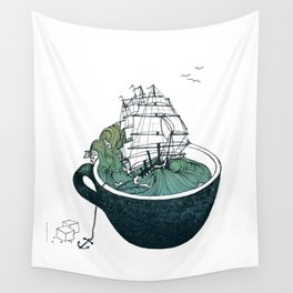 Sea Cup Wall Tapestry