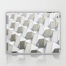 BLACK AND GREY ABSTRACT PATTERN Laptop & iPad Skin