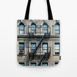 Facades of NY - 01  Tote Bag