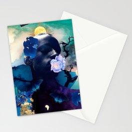 Indigo Skies Stationery Cards