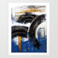 VinylTreeRing Art Print