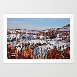 Bryce Canyon - Sunset Point Art Print