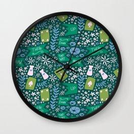 Wonderland Wall Clock