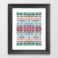 Ikat #8C Framed Art Print