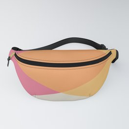 Mid Century - Yellow and Pink Fanny Pack