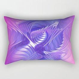 flames on texture -700- Rectangular Pillow