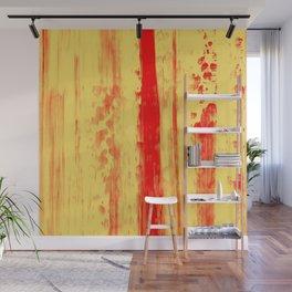 Gerhard Richter Inspired Abstract Urban Rain 3 Wall Mural