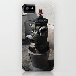Marseilles Hydrant iPhone Case