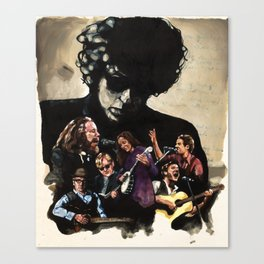 The New Basement Tapes Canvas Print