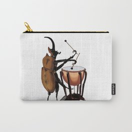 Beetle Tries Timpani Carry-All Pouch