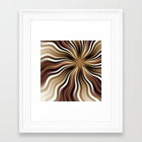 graphic design Framed Art Prints featuring Graphic Design by gabiw Art