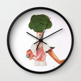 Normal Life · Hier kocht der Chef Wall Clock
