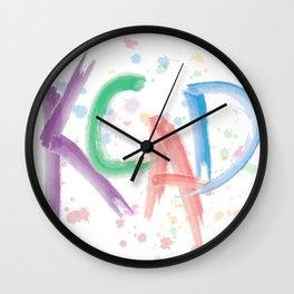 KCAD Wall Clock