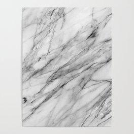 Carrara Marble Poster