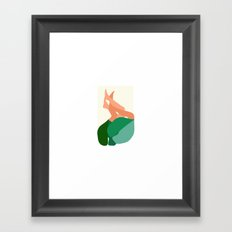 Towel&spoon Framed Art Print