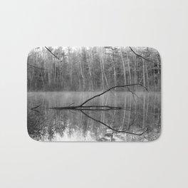 Black and White Reflections over Bluegill Bond Bath Mat