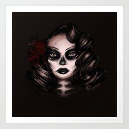 La Bella Muerta Art Print